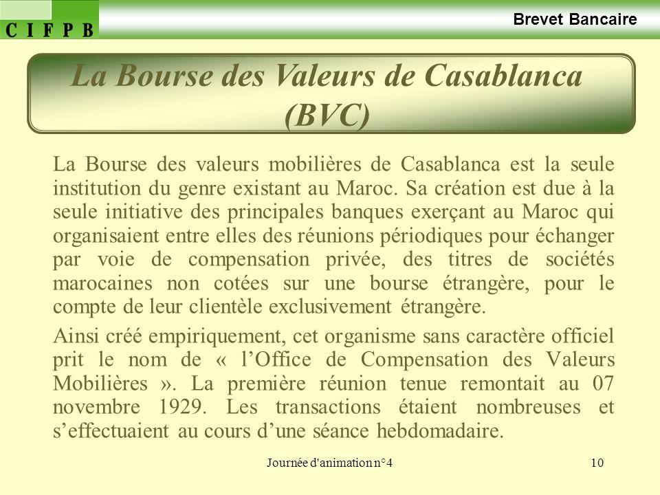 La Bourse des Valeurs de Casablanca