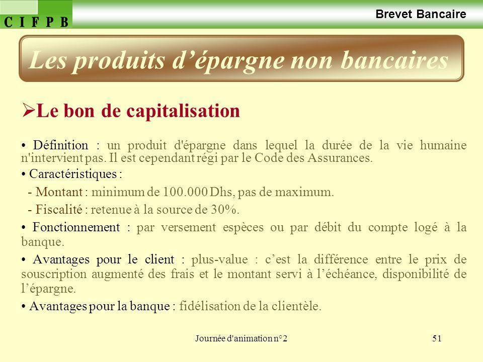 Les produits d'épargne non bancaires