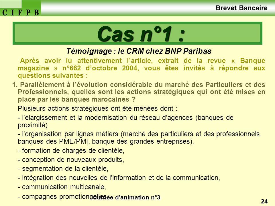 Témoignage : le CRM chez BNP Paribas