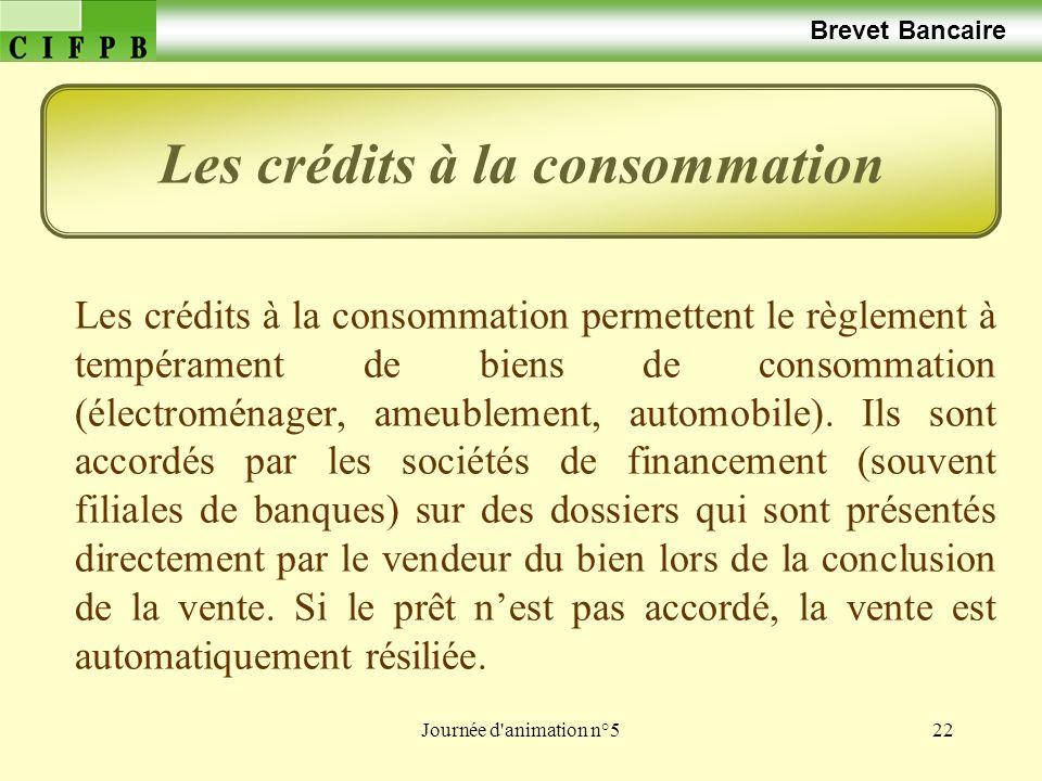 Les crédits à la consommation