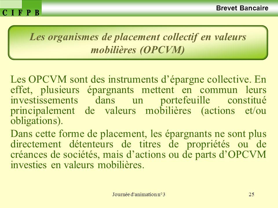 Les organismes de placement collectif en valeurs mobilières (OPCVM)