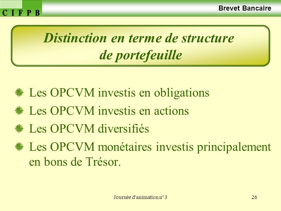 Distinction en terme de structure
