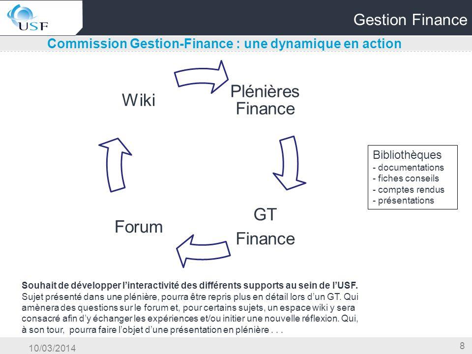 Commission Gestion-Finance : une dynamique en action