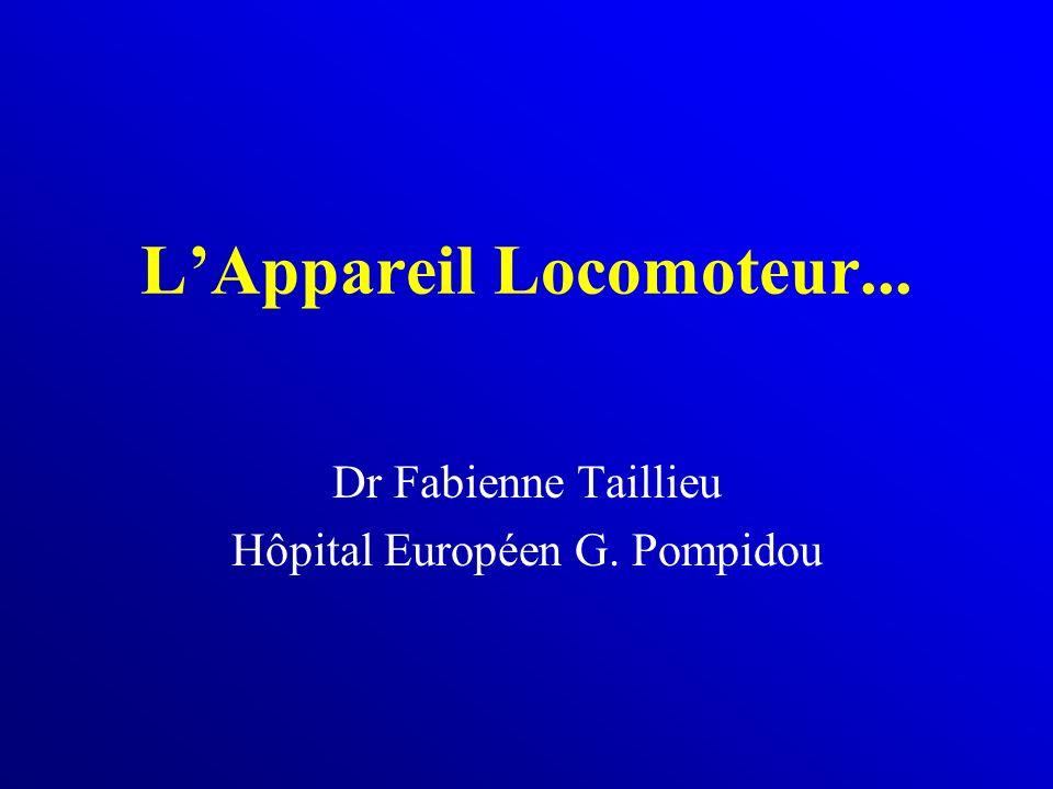 L'Appareil Locomoteur...