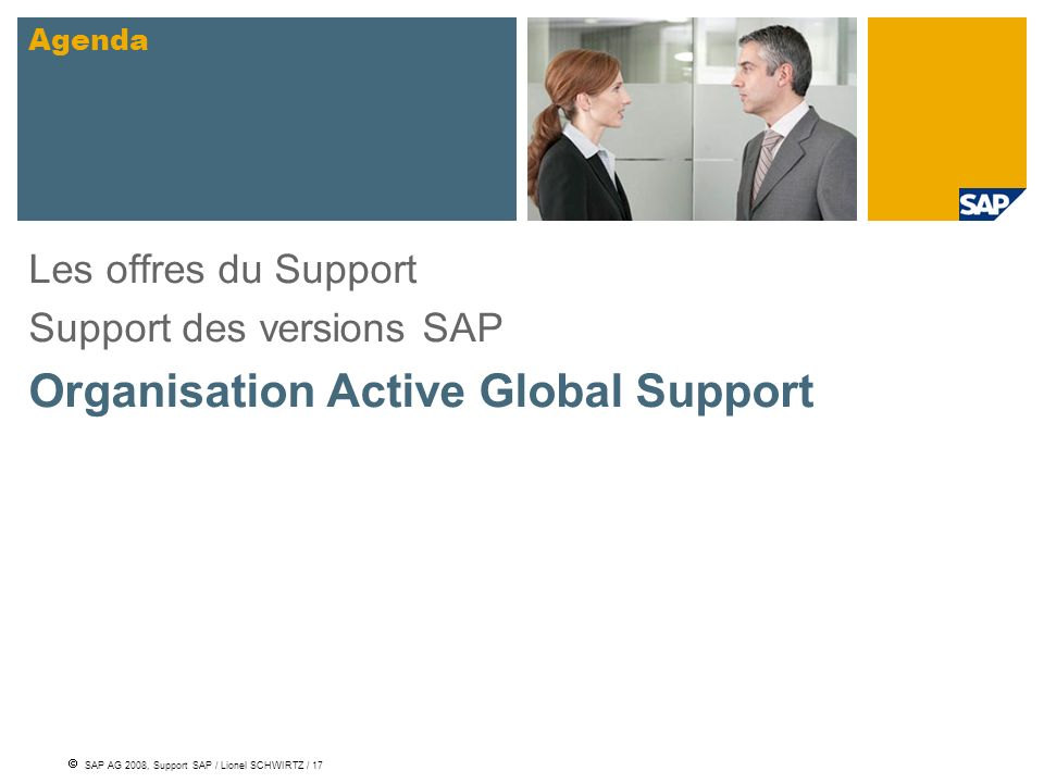 Organisation Active Global Support