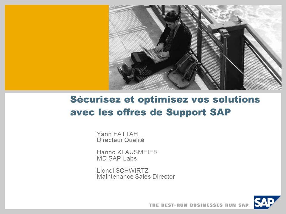 Sécurisez et optimisez vos solutions avec les offres de Support SAP