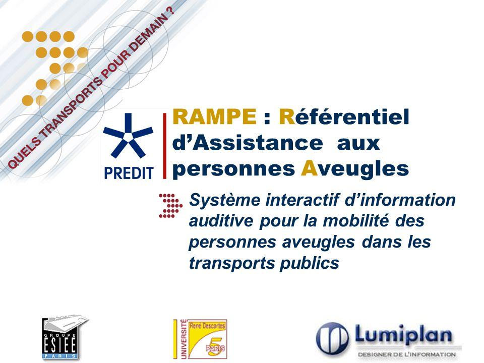 RAMPE : Référentiel d'Assistance aux personnes Aveugles
