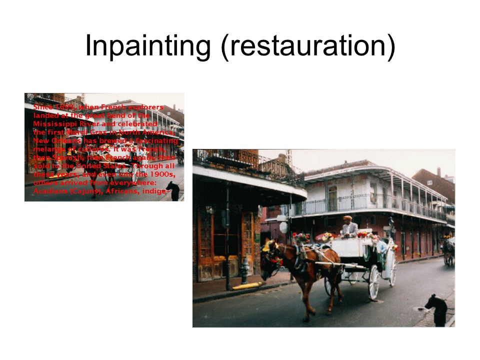 Inpainting (restauration)