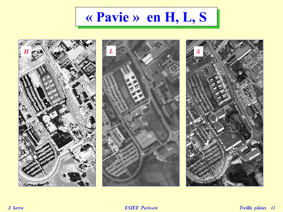 « Pavie » en H, L, S H L S