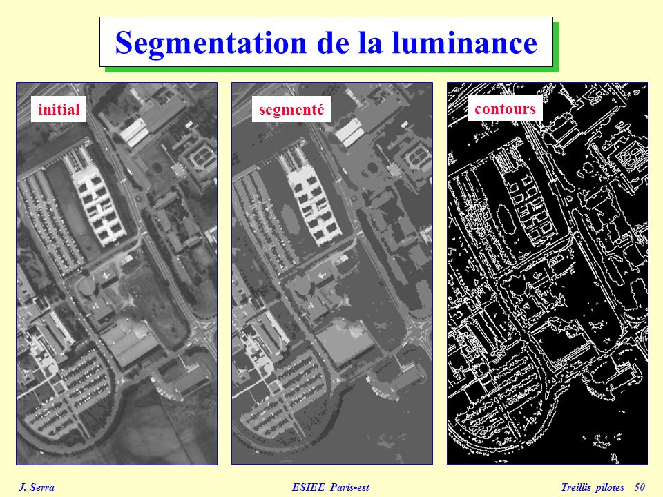 Segmentation de la luminance