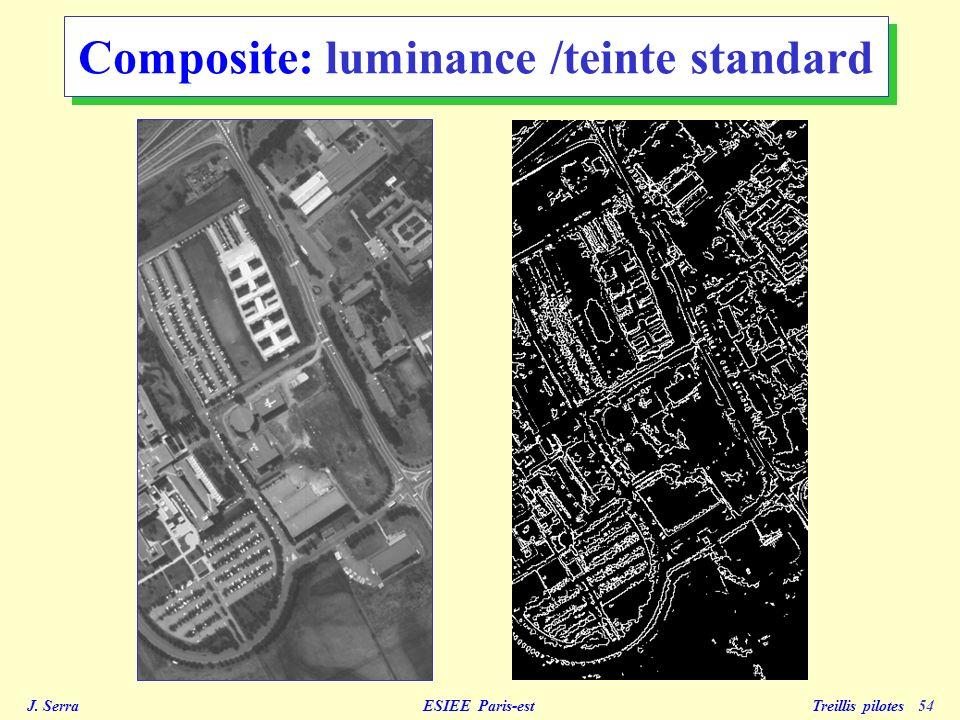 Composite: luminance /teinte standard