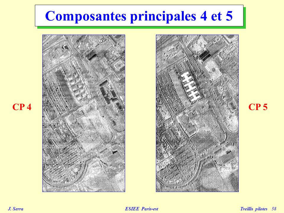 Composantes principales 4 et 5