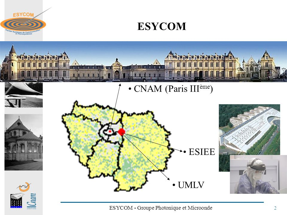 ESYCOM - Groupe Photonique et Microonde 2