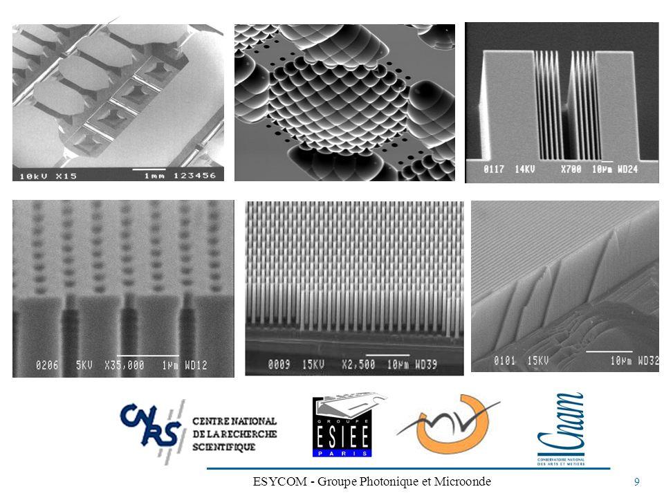 ESYCOM - Groupe Photonique et Microonde 9