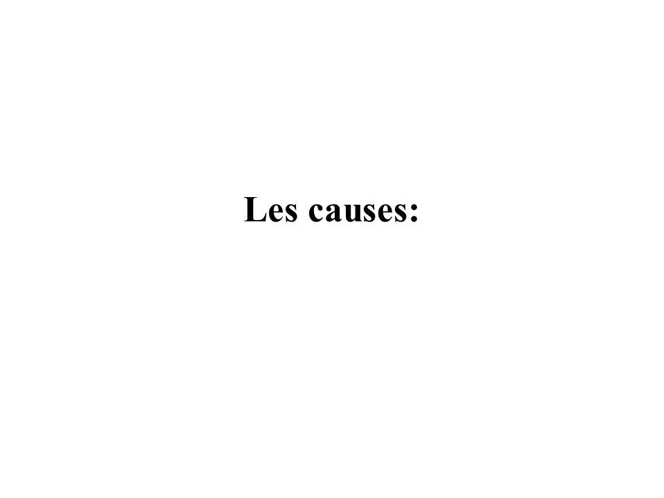 Les causes: