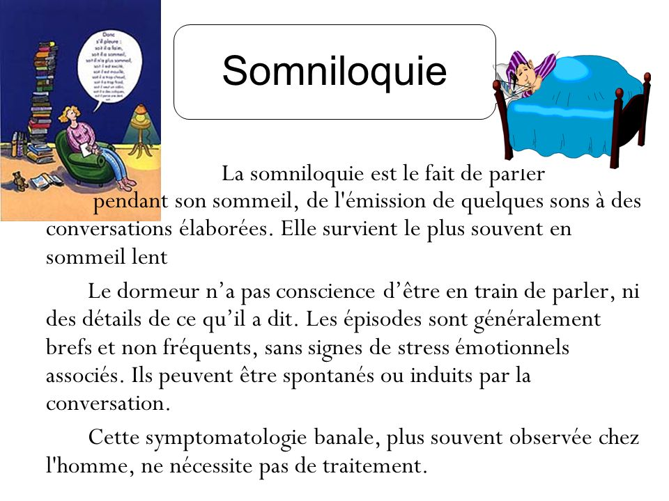 Somniloquie