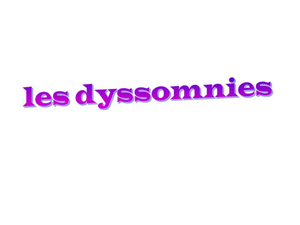 les dyssomnies