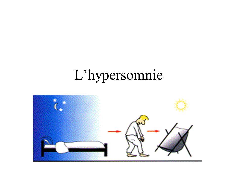 L'hypersomnie