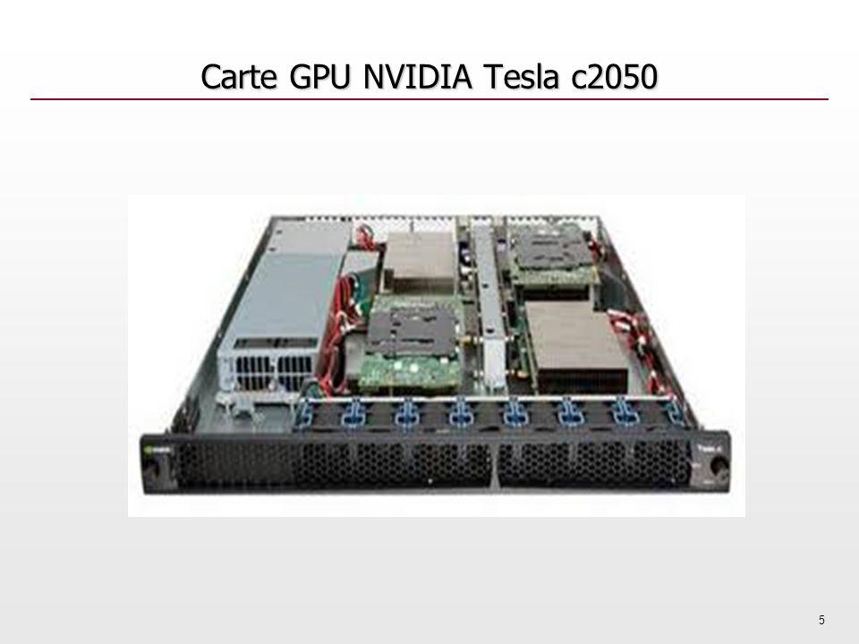 Carte GPU NVIDIA Tesla c2050