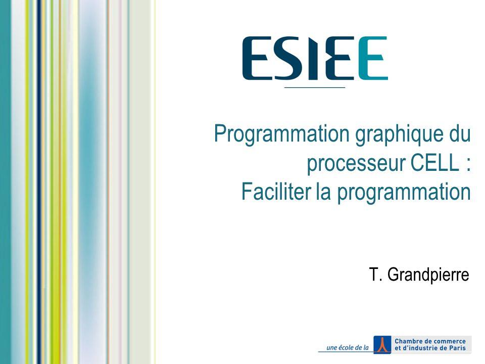 Programmation graphique du processeur CELL : Faciliter la programmation