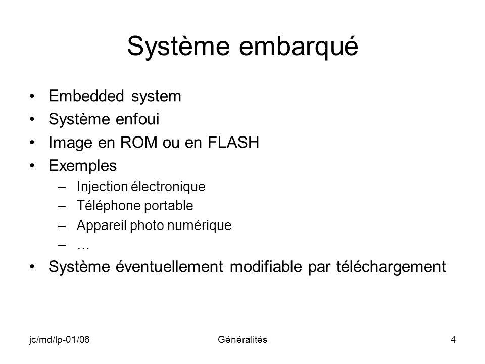 Système embarqué Embedded system Système enfoui