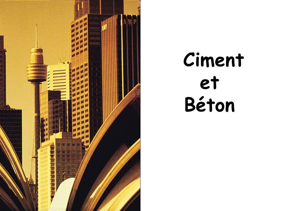 Ciment et Béton