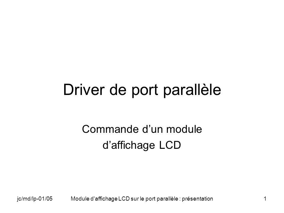 Driver de port parallèle