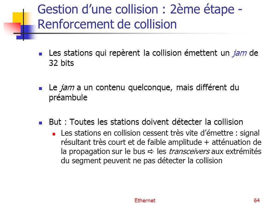Gestion d'une collision : 2ème étape - Renforcement de collision