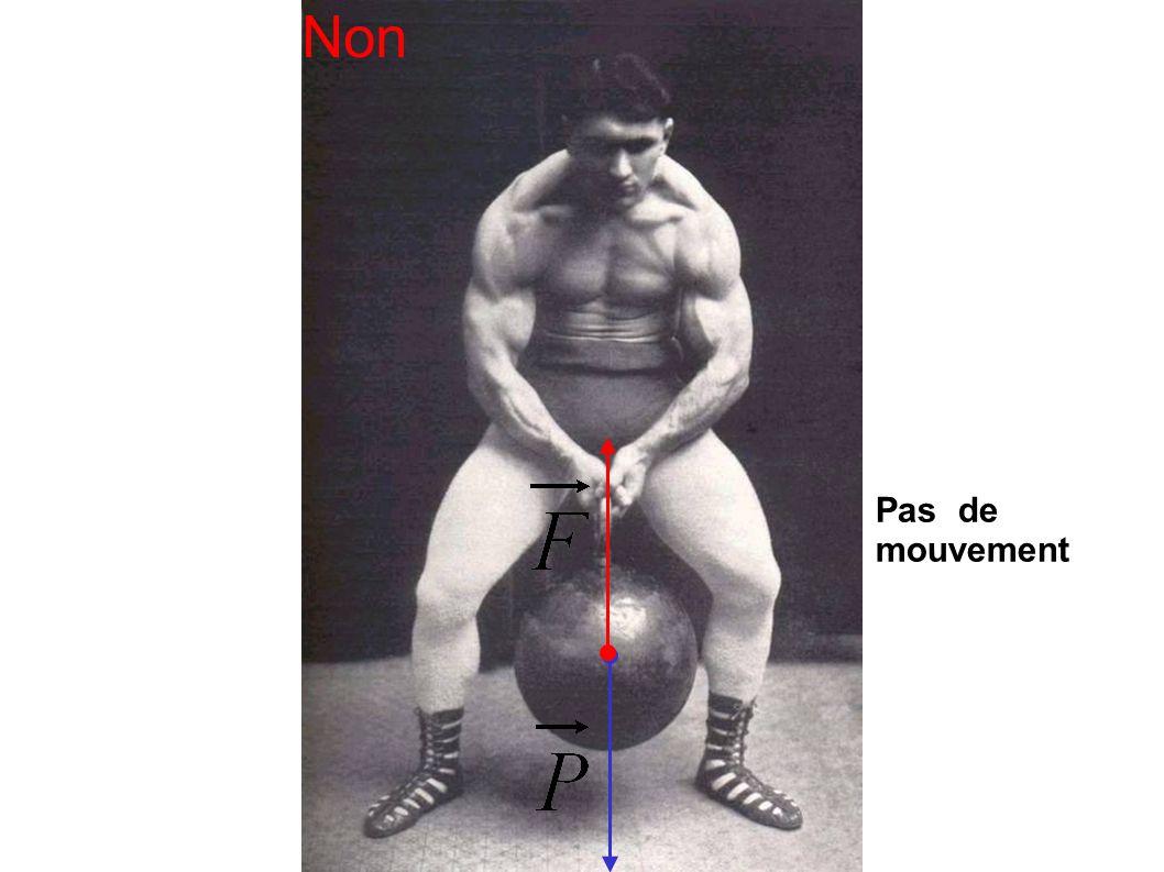 Non Pas de mouvement