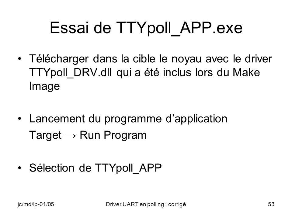 Essai de TTYpoll_APP.exe