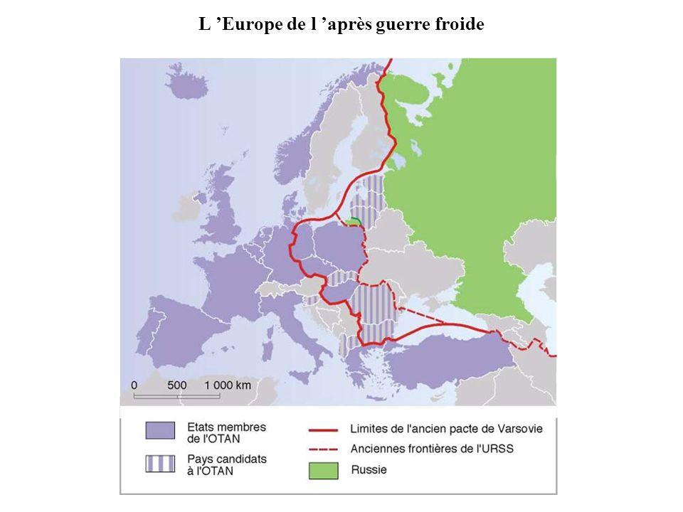 L 'Europe de l 'après guerre froide