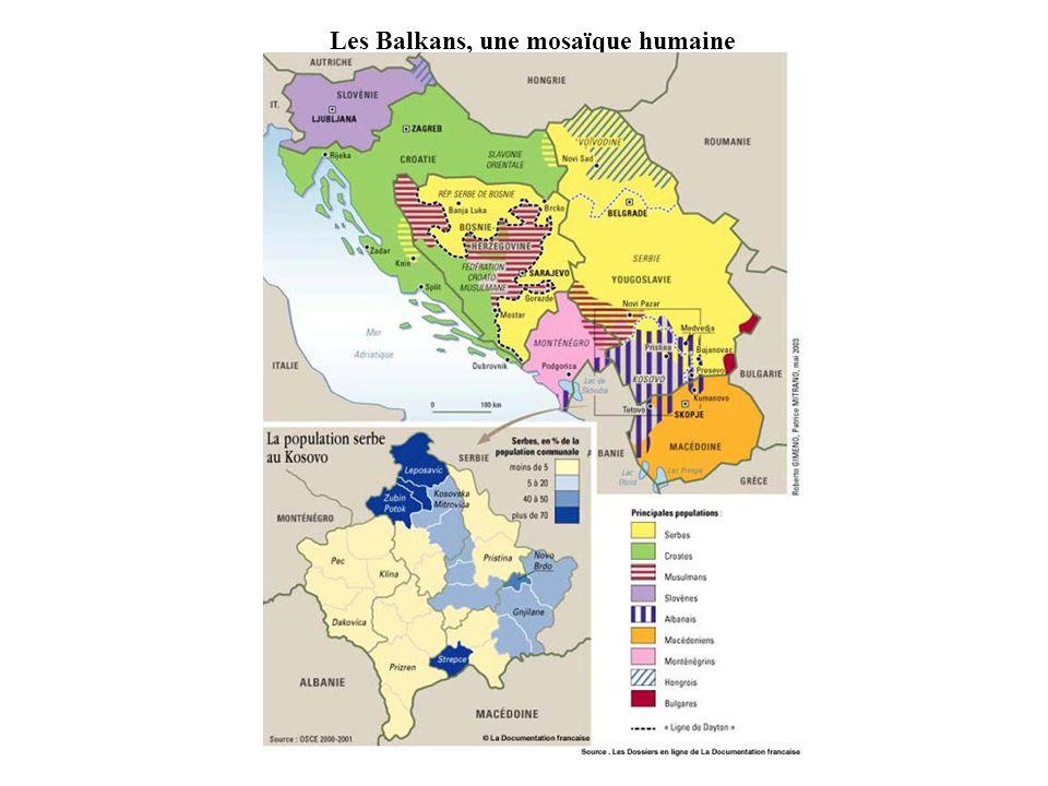 Les Balkans, une mosaïque humaine