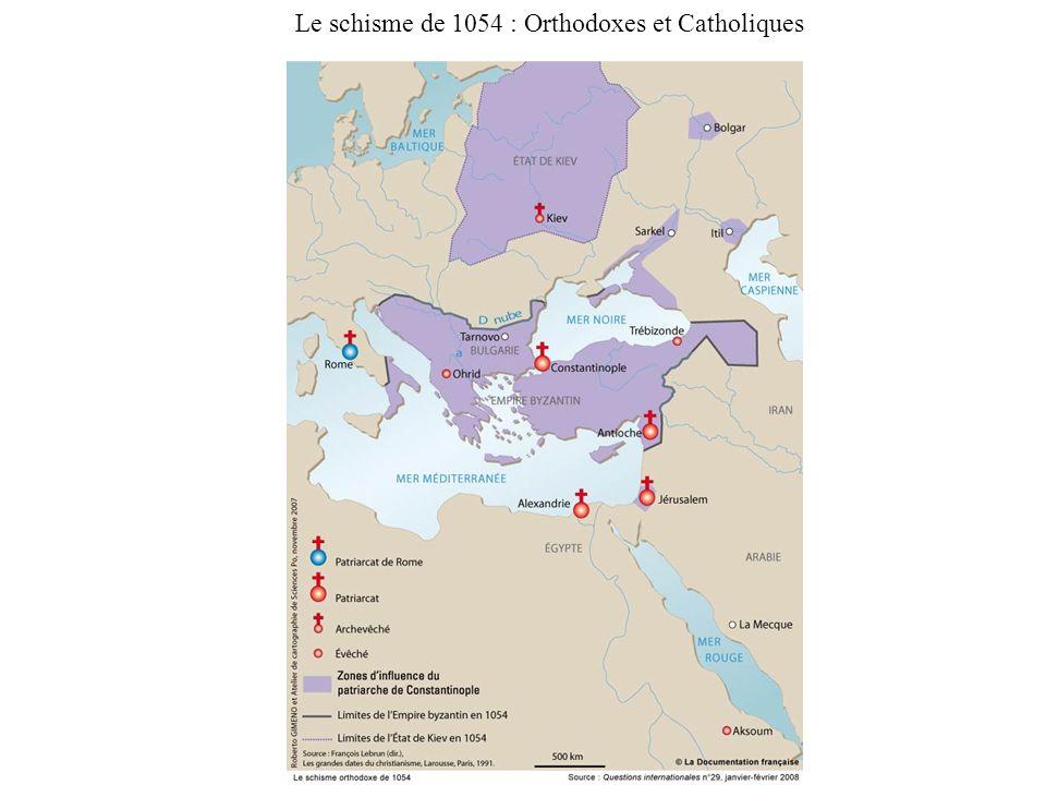 Le schisme de 1054 : Orthodoxes et Catholiques
