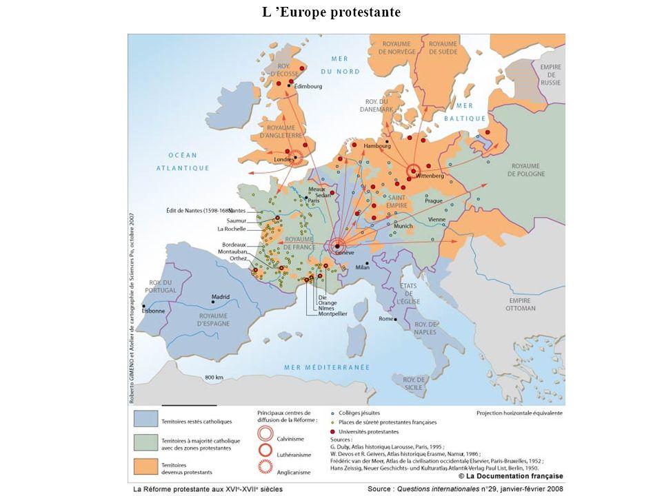 L 'Europe protestante