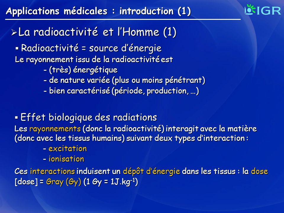 La radioactivité et l'Homme (1)