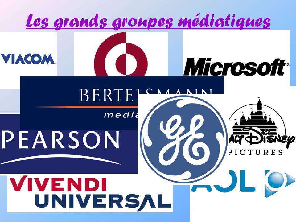 Les grands groupes médiatiques