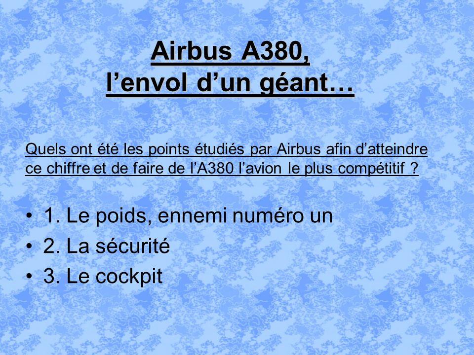 Airbus A380, l'envol d'un géant…
