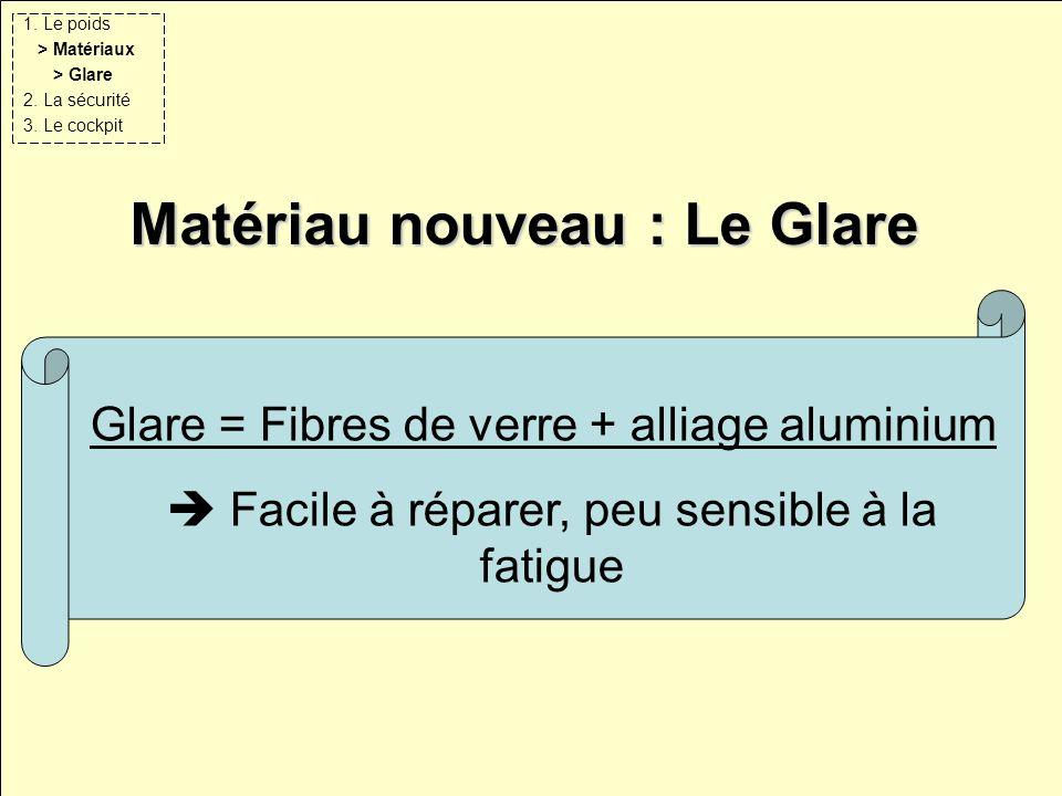 Matériau nouveau : Le Glare