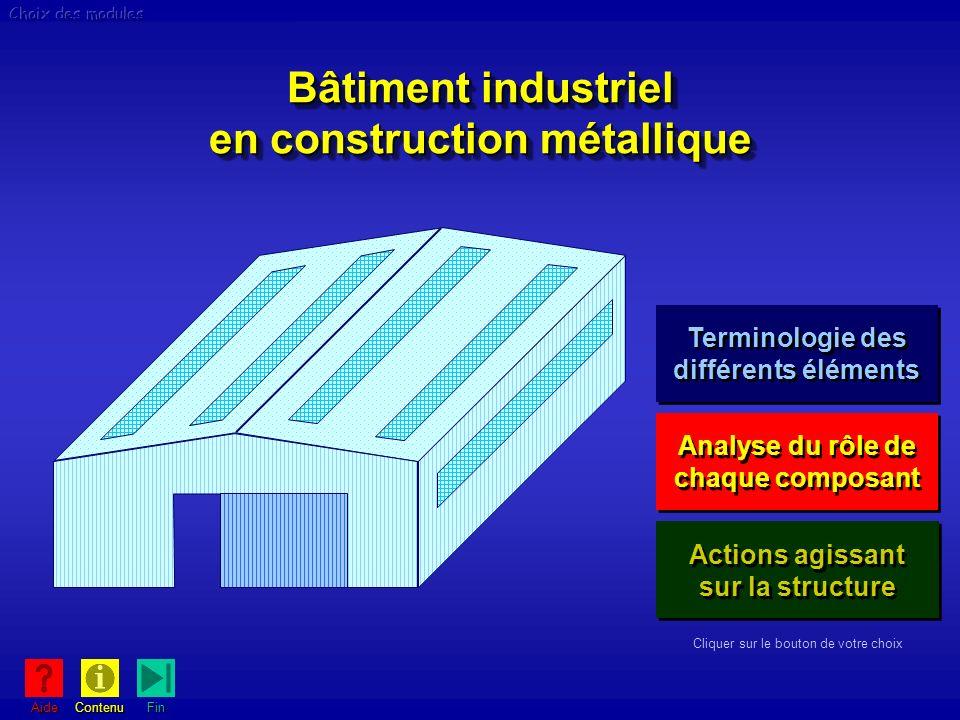 Bâtiment industriel en construction métallique