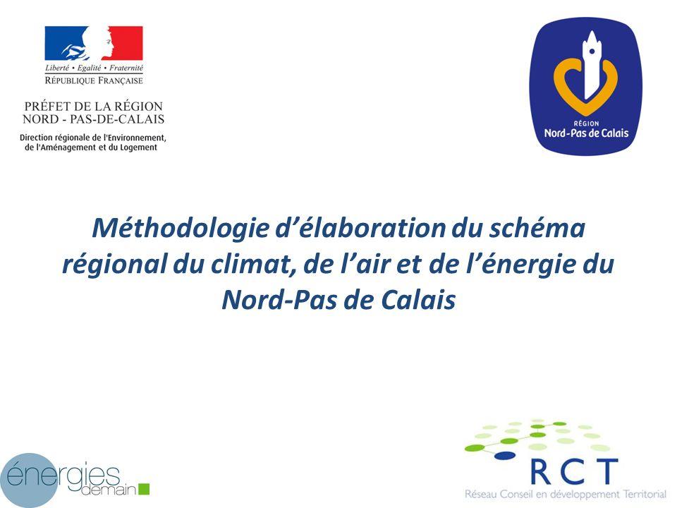 Méthodologie d'élaboration du schéma régional du climat, de l'air et de l'énergie du Nord-Pas de Calais