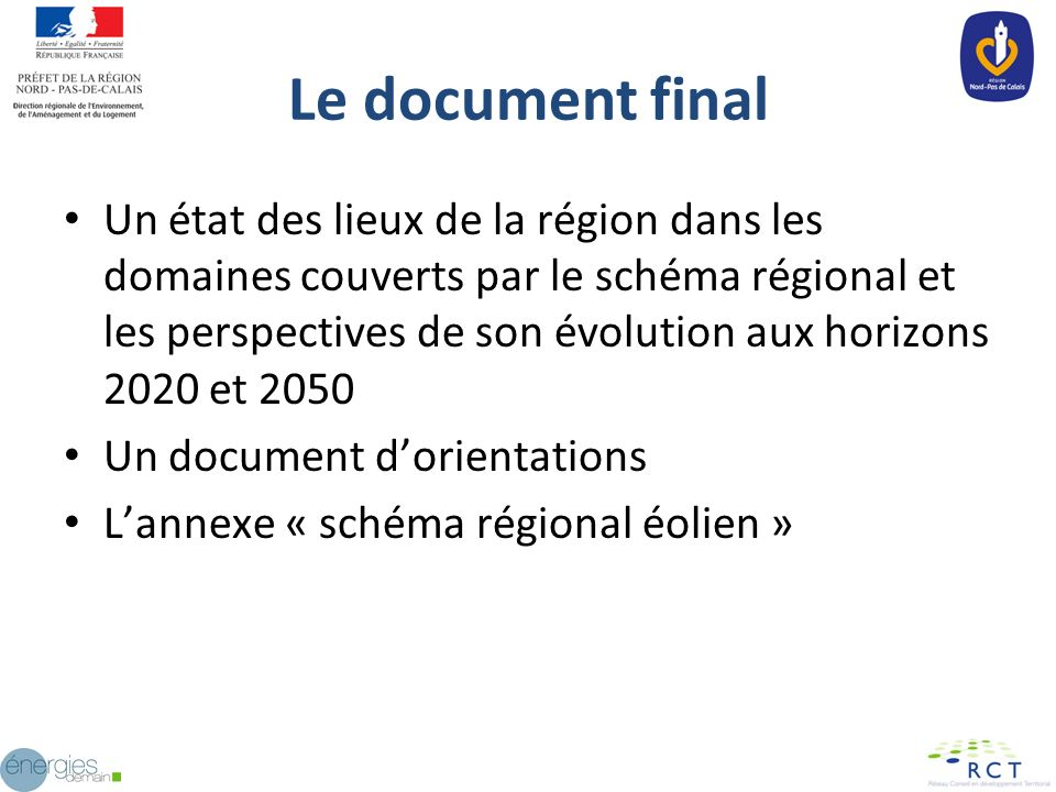 Le document final