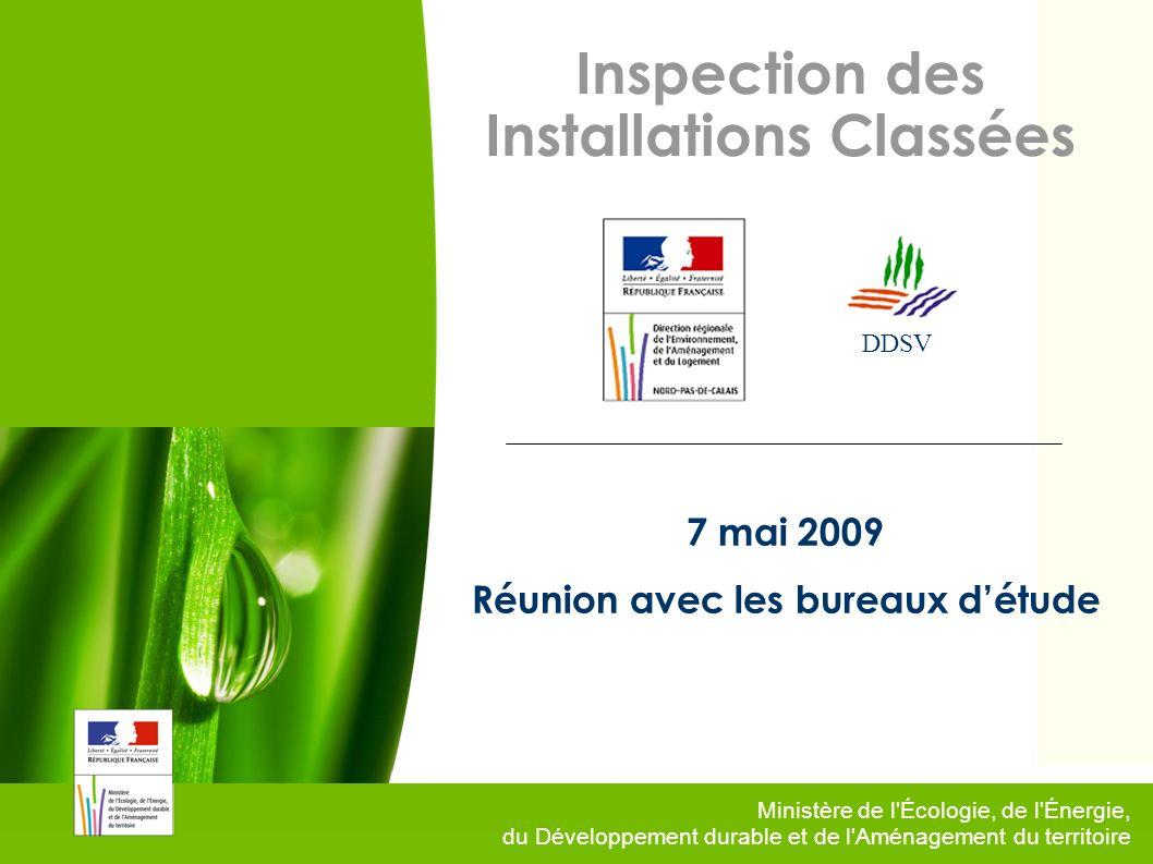 Inspection des Installations Classées Réunion avec les bureaux d'étude
