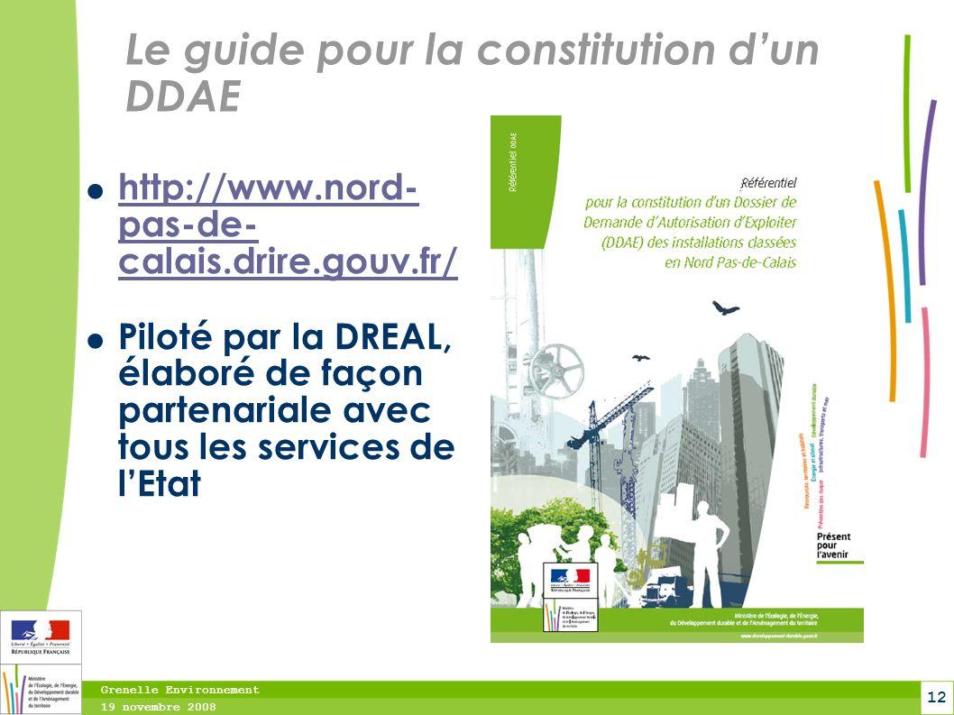 Le guide pour la constitution d'un DDAE