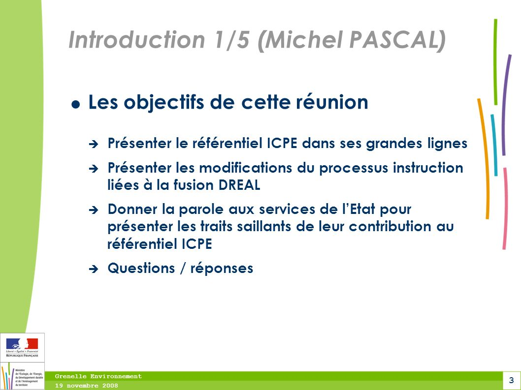 Introduction 1/5 (Michel PASCAL)