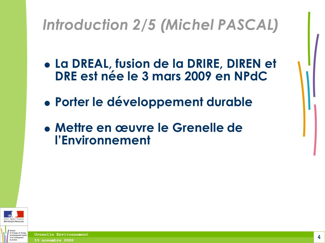 Introduction 2/5 (Michel PASCAL)