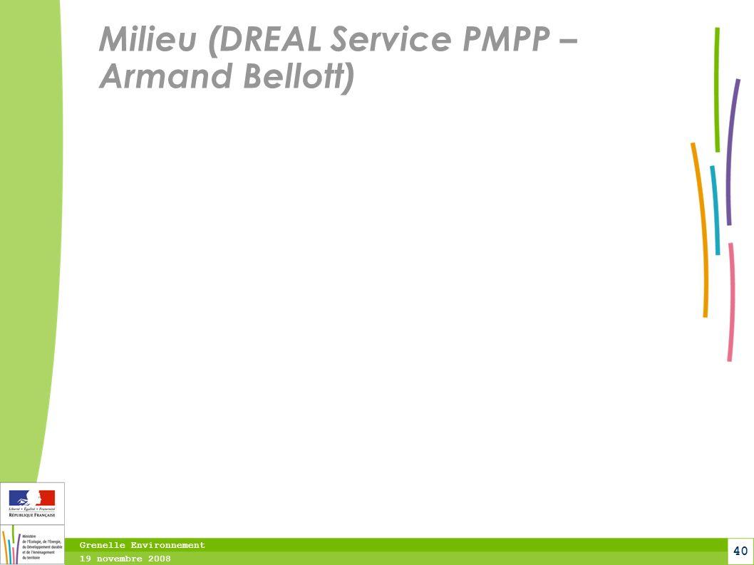 Milieu (DREAL Service PMPP – Armand Bellott)