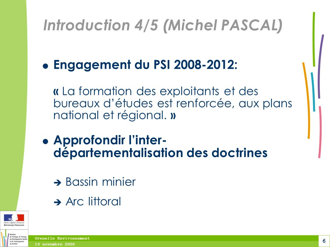 Introduction 4/5 (Michel PASCAL)