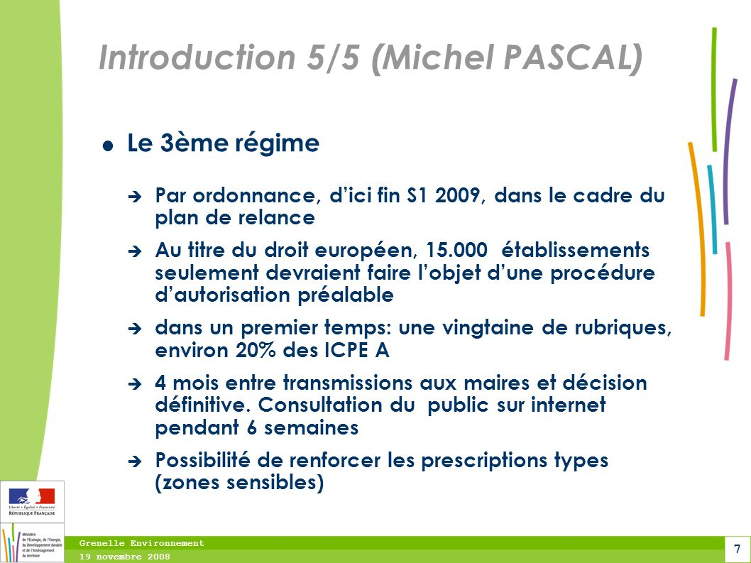 Introduction 5/5 (Michel PASCAL)