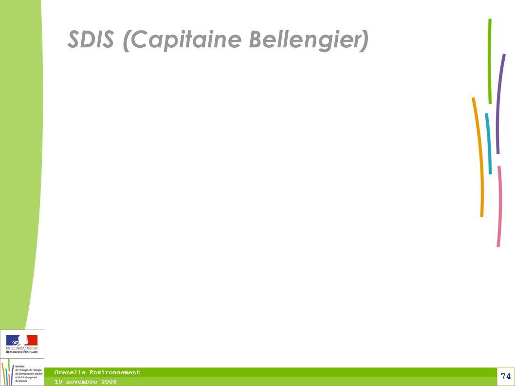 SDIS (Capitaine Bellengier)
