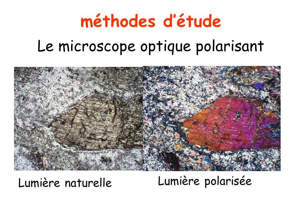 méthodes d'étude Le microscope optique polarisant